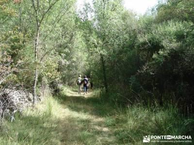 Cañones del Río Cega y  Santa Águeda  – Pedraza;grupos de senderismo en madrid gratis licencia